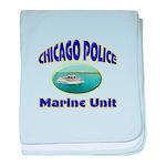 Chicago PD Marine Unit baby blanket