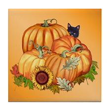 Autumn Bounty Tile Coaster