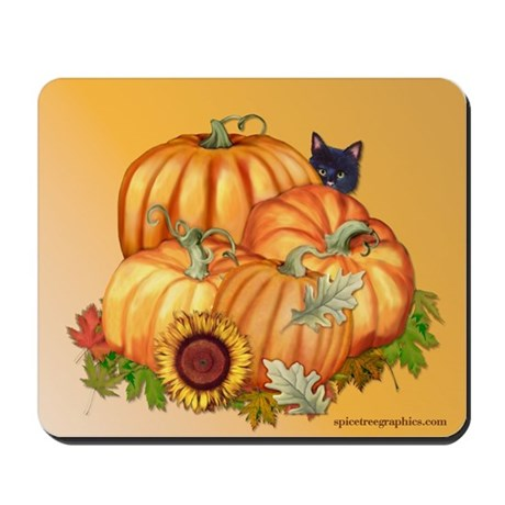Autumn Bounty Mousepad