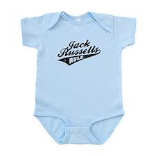 Jack Russells Rule Infant Bodysuit