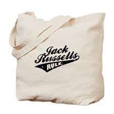 Jack Russells Rule Tote Bag