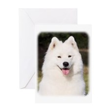 Samoyed 9Y602D-139 Greeting Card