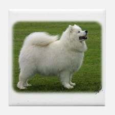 Samoyed 8T91D-02 Tile Coaster