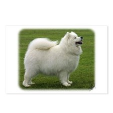 Samoyed 8T91D-02 Postcards (Package of 8)