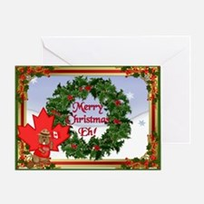 Christmas Greetings from Canada Greeting Card