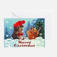 Ski Christmas Greeting Cards (Pk of 10)