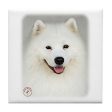 Samoyed 9Y566D-019 Tile Coaster
