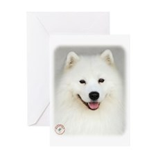 Samoyed 9Y566D-019 Greeting Card
