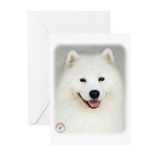 Samoyed 9Y566D-019 Greeting Cards (Pk of 20)