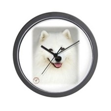 Samoyed 9Y566D-019 Wall Clock