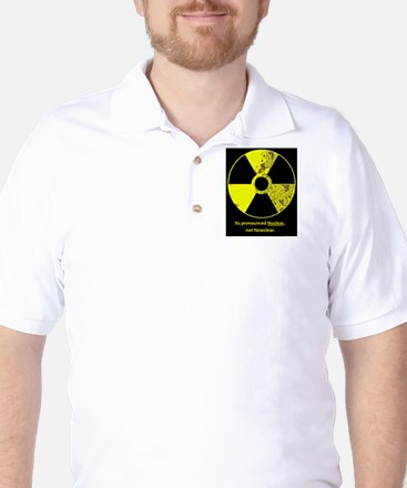 Nuclear correction Golf Shirt