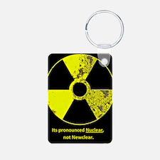Nuclear correction Keychains