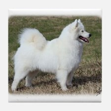 Samoyed 9Y602D-004 Tile Coaster