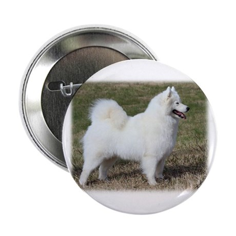 """Samoyed 9Y602D-004 2.25"""" Button"""