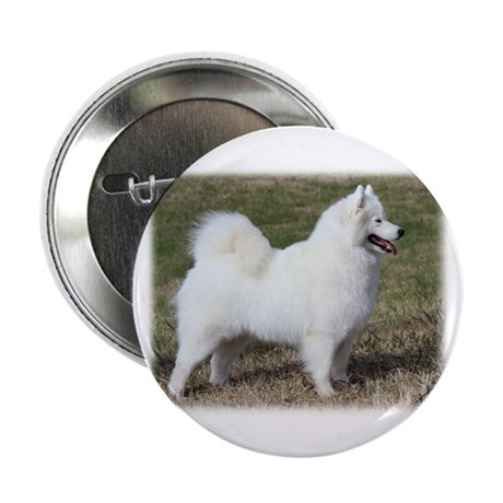 """Samoyed 9Y602D-004 2.25"""" Button (100 pack)"""