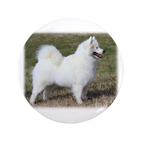 """Samoyed 9Y602D-004 3.5"""" Button"""