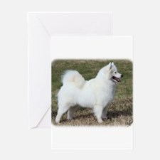 Samoyed 9Y602D-004 Greeting Card