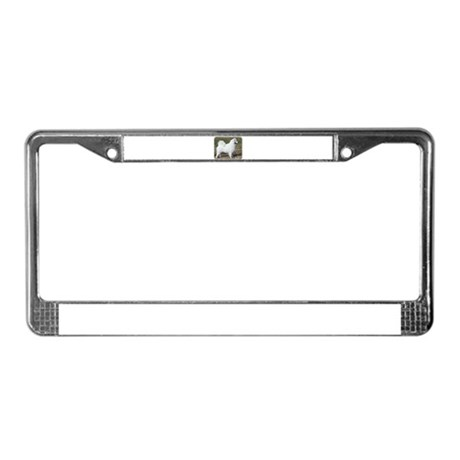 Samoyed 9Y602D-004 License Plate Frame