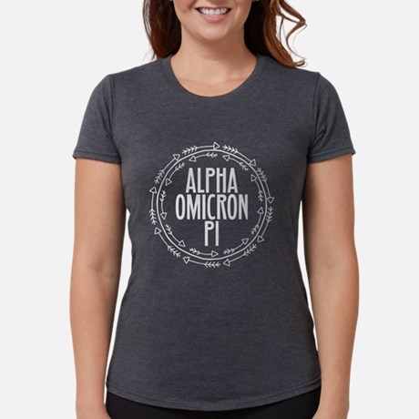 Alpha Omicron Pi Arrows Tri-Blend T-shirt