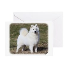 Samoyed 9Y602D-014 Greeting Card