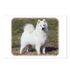 Samoyed 9Y602D-014 Postcards (Package of 8)
