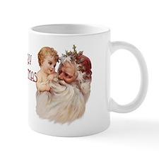 Santa and Cherub Mug