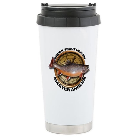 Stainless Steel Travel Brook Trout Mug