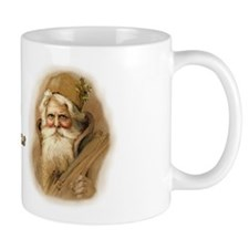 Old World Santa - Tan Mug