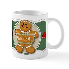 Gingerbread Man - Bite Me Mug