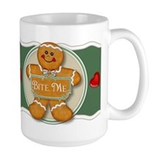 Gingerbread Man - Bite Me Mug