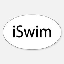 iSwim (Swimmer) Decal