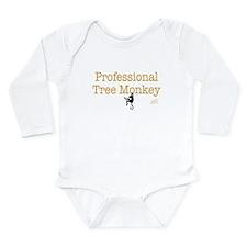 Hardworking Wear Long Sleeve Infant Bodysuit