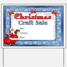 Santa Craft Sale Sign