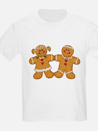 Gingerbread Man & Woman T-Shirt