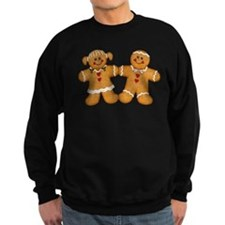 Gingerbread Man & Woman Sweatshirt