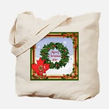Canadian Christmas Tote Bag