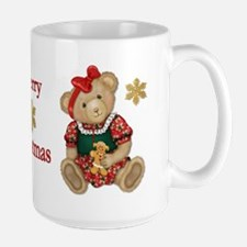 Christmas Teddy Bear - Girl Mug