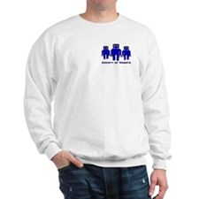 Cute Robot society Sweatshirt