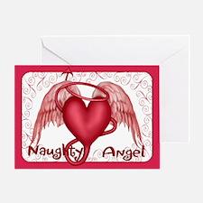 Naughty Angel - Inside Verse Greeting Card