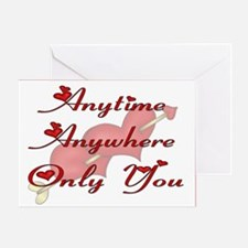 Only You Hearts Greeting Card