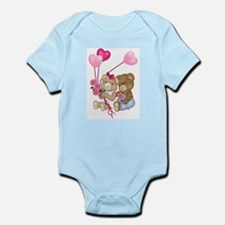 Sweetheart Bears Infant Bodysuit