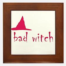 Bad Witch Framed Tile