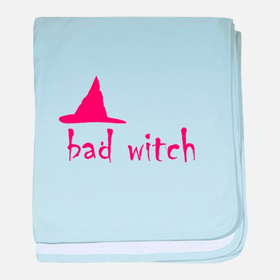 Bad Witch baby blanket