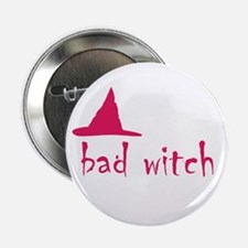 """Bad Witch 2.25"""" Button"""
