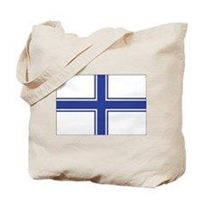 Ukraine Naval Ensign Tote Bag