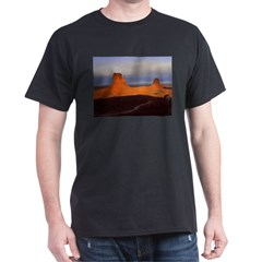 Monument Valley Black T-Shirt