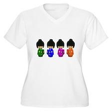 Cute kokeshi doll art T-Shirt