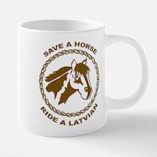 horseLatvian1.png 20 oz Ceramic Mega Mug