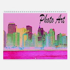 PHOTO ART Wall Calendar