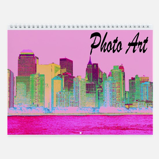 PHOTO ART Wall Calendar